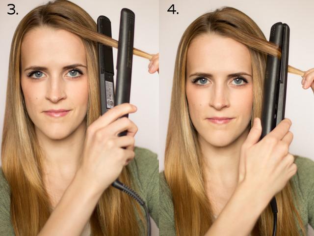 Как накрутить волосы на утюжок пошагово
