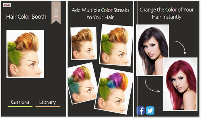 Try On Different Hair Styles: Hair Apps, Hair Colour Change